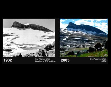 Glaciares Antes y Despues evidencias del cambio climático
