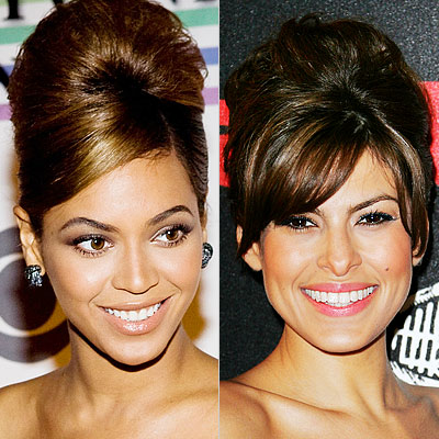 eva mendes hairstyle. GET THE LOOK: Stars like Beyonce and Eva Mendes not only play retro roles in