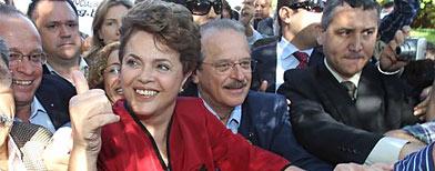 Dilma Rousseff ganó la presidencia de Brasil/ AP