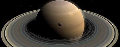 Descubren oxígeno y dióxido de carbono en una luna de Saturno/ iStockphoto