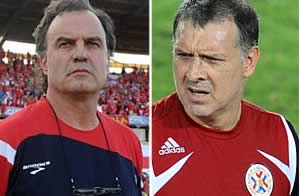 Bielsa y Martino / AFP - Getty Images