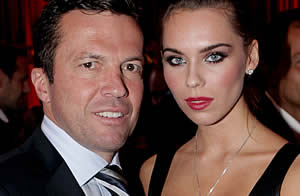 Lottar Matthäus junto con Liliana, su esposa / Getty Images