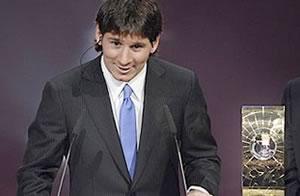 Messi, premiado en Suiza / AFP - Getty Images