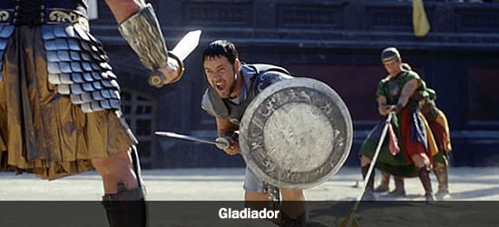 Vencedores dos anos 2000 Gladiador