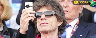 Mick Jagger mantém 100% de aproveitamento: seleção pela qual torce, perde Mickjaggeringlaterra_392_afp