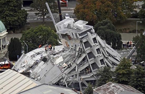 Resultado de imagem para terremoto nova zelandia hoje