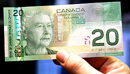 Twenty dollar bill (Canadian Press)