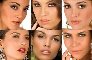 Participantes a Miss Universo/Matt Petit