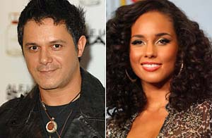 Alejandro Sanz y Nelly Furtado/WireImage