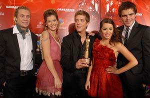 Los Teen  Angels. Foto: Télam