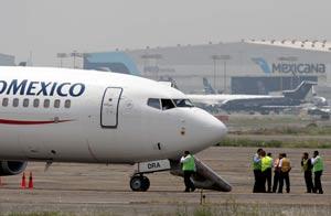 Avión secuestrado de Aeroméxico/AP