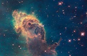 Imágenes tomadas por el telescopio Hubble. foto AP