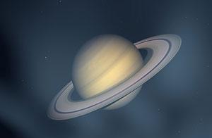 El planeta Saturno, en representación gráfica/Shutterstock