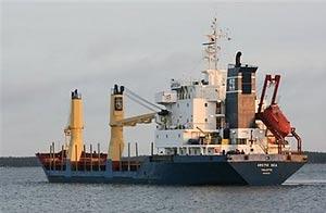 Barco de cargo  Arctic Sea en Kotka, Finland, foto de archivo/AP
