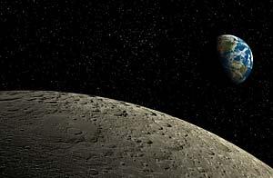 La Tierra vista desde la Luna/Shutterstock