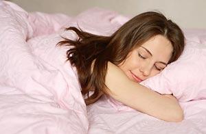 Mujer dormida/Shutterstock