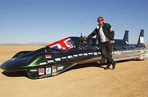 El jefe del equipo británico que batió el récord de velocidad/AP