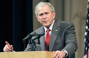 El ex presidente de EEUU George W. Bush habla en mayo de 2009 / Foto: Getty Images