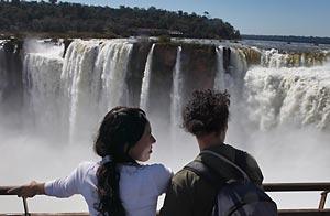 La Gargante del Diablo, una de las caídas de las Cataratas del Iguazú / Foto: Getty Images