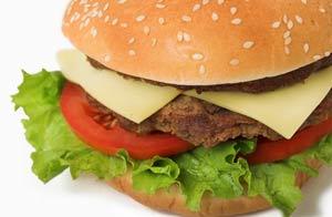 Una hamburguesa/Shutterstock