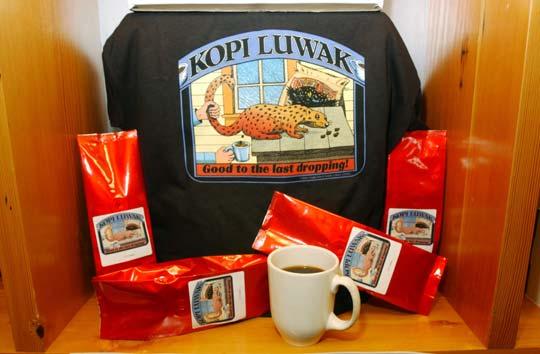 Proceso de producción del café kopi luwak en Indonesia / Foto: Don MacKinnon/GettyImages
