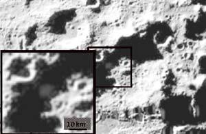 NASA halló cantidad significativa de agua en la Luna /  Foto: AP