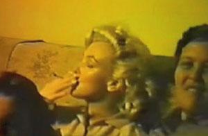 Imagen tomada del video de Marilyn Monroe