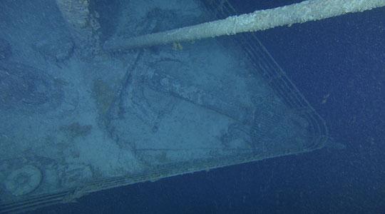 El Titanic en esta fotografía del sábado 28 de agosto del 2010. AP