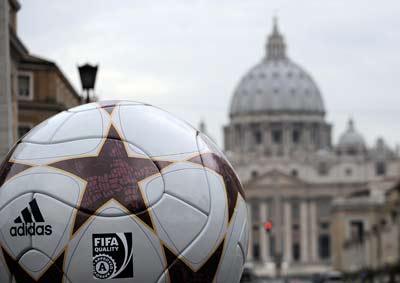 FIFA y Vaticano. Foto GETTY IMAGES