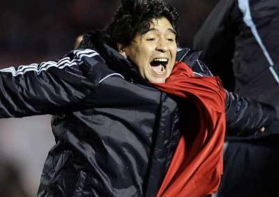 Diego Maradona. Foto GETTY IMAGES