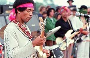 Jimi Hendrix, Woodstock,1969 AFP