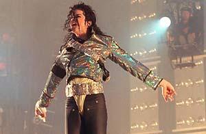 Michael Jackson en concierto 1988, archivo EFE