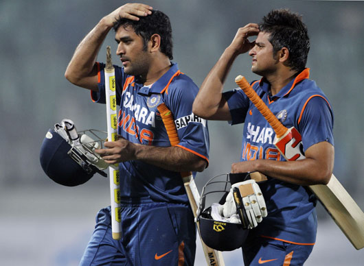 dhoni_raina_walk Watch Bangladesh Vs India 3rd ODI Result,Photo & Video Highlights
