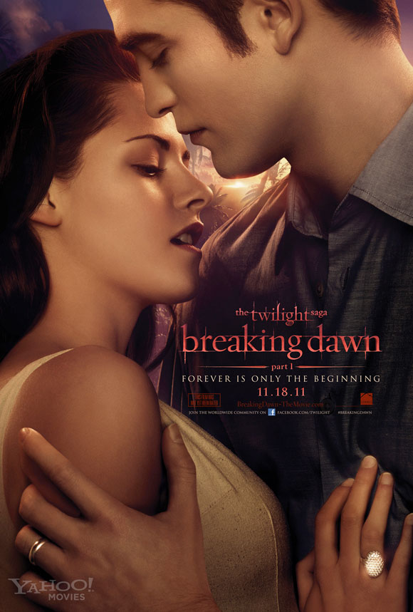 'The Twilight Saga: Breaking Dawn - Part 1' Bella and Edward Poster