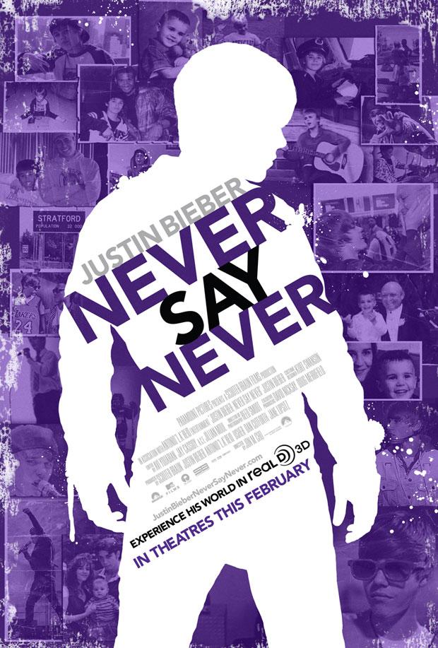 Justin Bieber: Never Say Never Poster