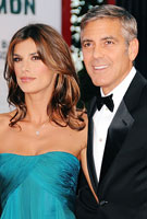 George Clooney and his girlfriend Elisabetta Canalis. Photo: Pascal Le Segretain, Getty Images