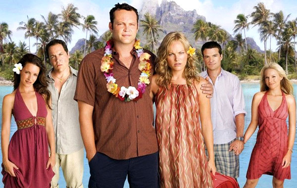 The U.K. poster for Universal Pictures' 'Couples Retreat'