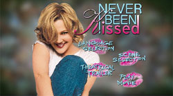The fake menu screen for 'Never Been Kissed'