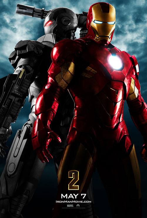 The first teaser poster for Paramount Pictures' 'Iron Man 2'