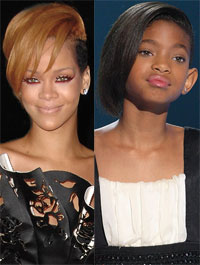Rhianna/Willow Smith