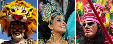 Carnavales de Latinoamérica / Flickr Usuarios:ottonassar, dubiella y Marco en Stephanie