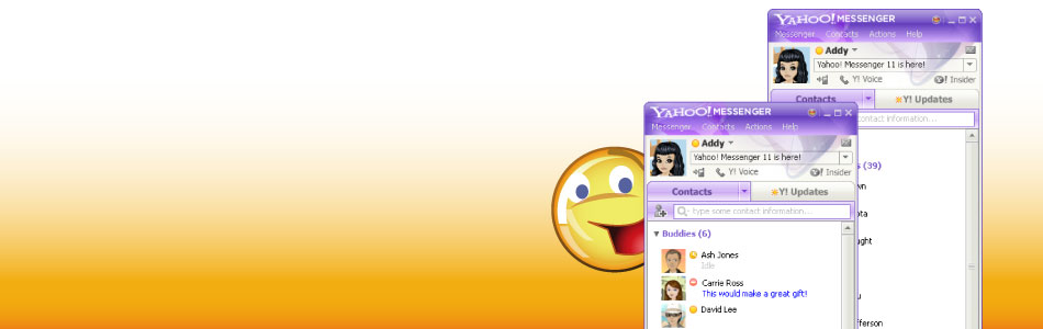 Mira lo que tiene el nuevo Yahoo! Messenger