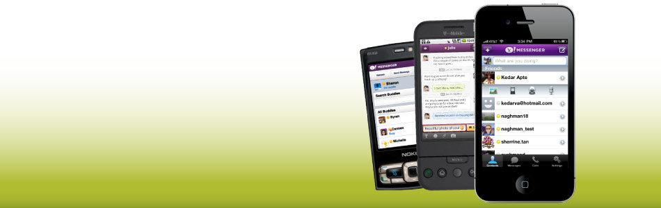 Enjoy your chats on the go through your iPhone, Android or any Internet enabled phone.
