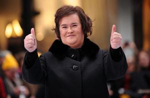 Susan Boyle Rockefeller Center / Wireimage