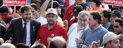 Arranca marcha del SME hacia el Zócalo/El Universal