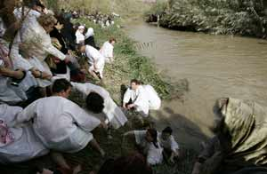 Se está secando el Río Jordan
