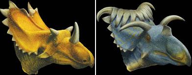 Científicos reconstruyeron dinosaurios en Museo de Utah / Foto: AP