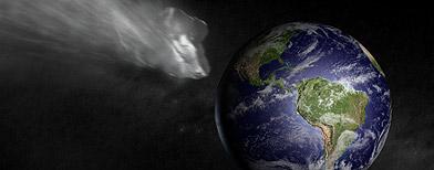 Choque de un asteroide con la Tierra / iStockphoto