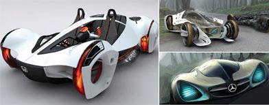 Prototipos de autos de hasta 455 kilos para el concurso del Salón de Los Ángeles / Foto: Autocosmos