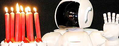 El robot Asimo cumple 10 años / EFE